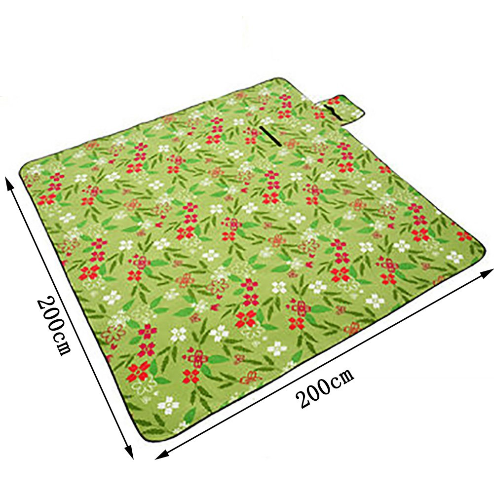 Tapis étanche à à à l'humidité Haus Küche Teppich Moistureproof Griff tragbar Außen Griff Teppich Picknick-Crawling Nap Spring Outing matt Isolierung B07CW5S8MX Picknickdecken Elegant und feierlich f4a333