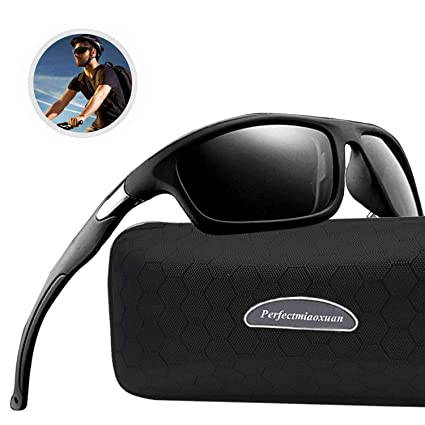 Perfectmiaoxuan Gafas de Sol polarizadas para Hombre Mujer/Golf de Pesca Fresco Ciclismo El Golf