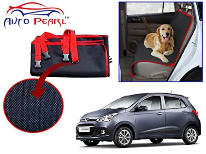 Auto Pearl Car Pet Seatver For Hyundai I_grand Black And Red