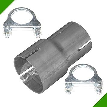 vente chaude meilleur choix vraiment à l'aise Réducteur de tuyau d'échappement de 55 à 70 mm - Avec 2 colliers de serrage  -