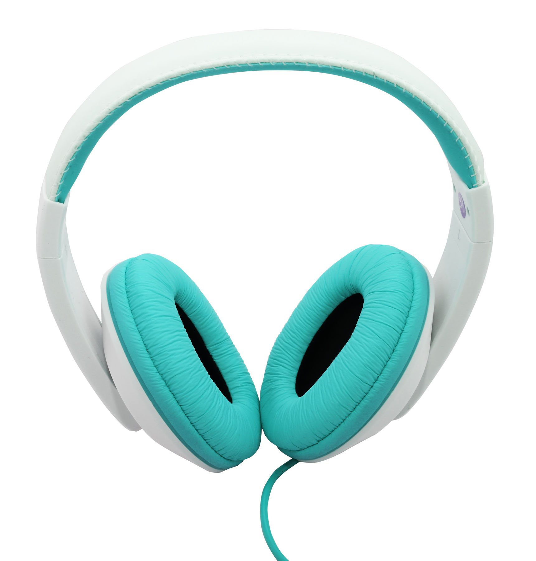 Connectland Stereo Wired Headphone & Microphone Lightweight 40mm Speaker Music Gaming Stylish Teal CL-AUD63035 by Connectland (Image #2)