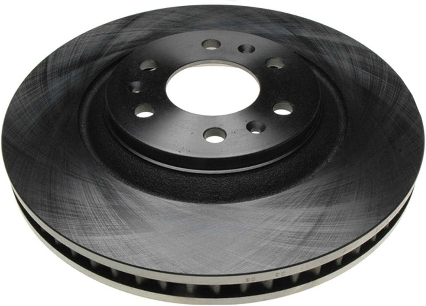 Disc Brake Rotor-Non-Coated Front ACDelco Advantage 18A1776A