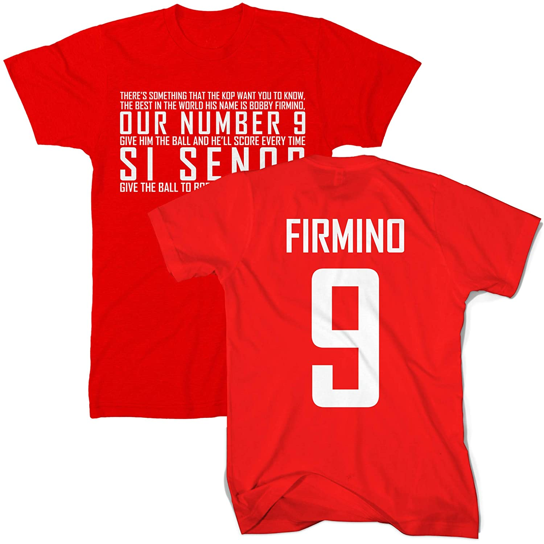Football Supporters Club Tee Gift Idea S/í Se/ñor Firmino Liverpool T Shirt