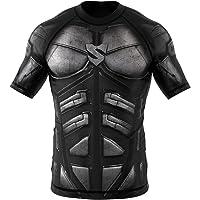 SMMASH Rashguard Dark Knight Manche Courte MMA BJJ UFC K1