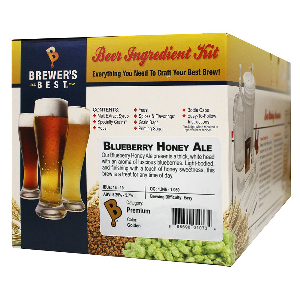 Brewer's Best - 5 Gallon (Blueberry Honey Ale) Kit by Brewer's Best