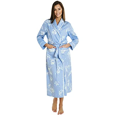 Alexander Del Rossa Womens Floral Cotton Summer Robe 166a153a5