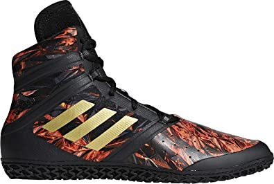 new concept cfb3d da89f adidas Flying Impact Wrestling Shoes - SS18 Black  Amazon.co.uk  Shoes    Bags