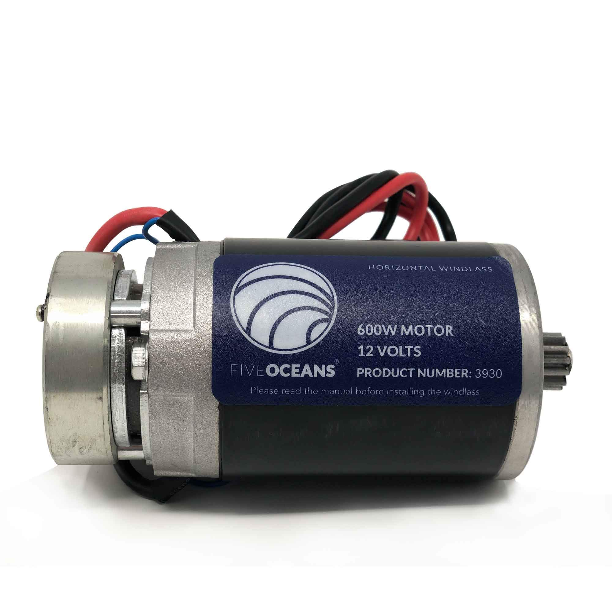 Five Oceans Replacement Motor for Atlantic 600 Horizontal Windlass 600W FO-4259 by Five Oceans