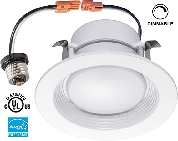 Yi lighting 13w 75w equivalent 4 inch dimmable retrofit led yi lighting 13w 75w equivalent 4 inch dimmable retrofit led recessed lighting aloadofball