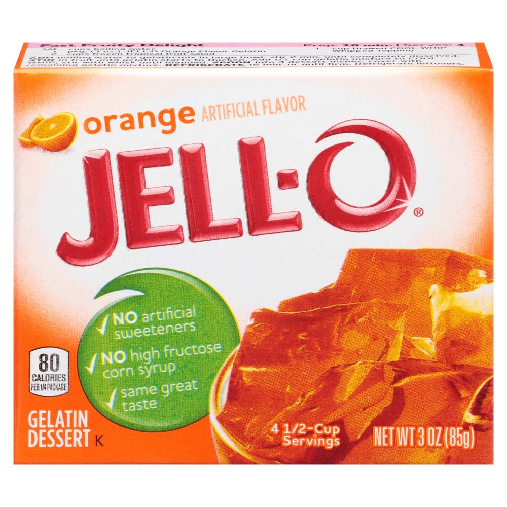 Jell-O Orange Gelatin Mix 3 Ounce Box by Jell-O (Image #5)