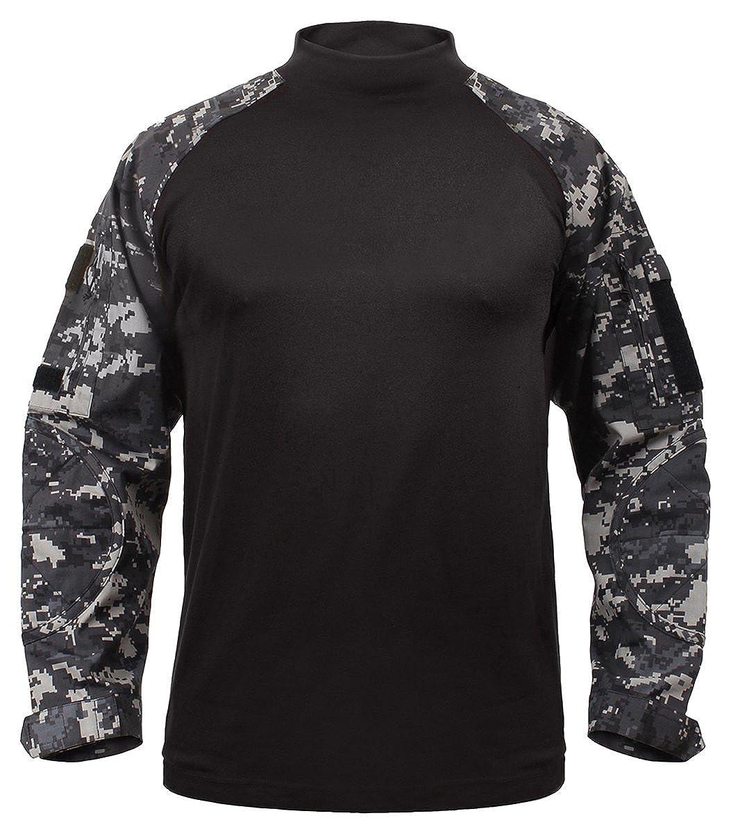 ロスコ ミリタリー コンバットシャツ ブラック ROTHCO MILITARY COMBAT SHIRT - BLACK 90010 B00E9AHRRG アーバンデジタルカモ(UDC) Medium