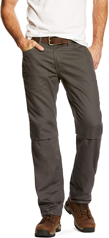 ARIAT Mens Rebar M4 Stretch Canvas Work Utility Pants