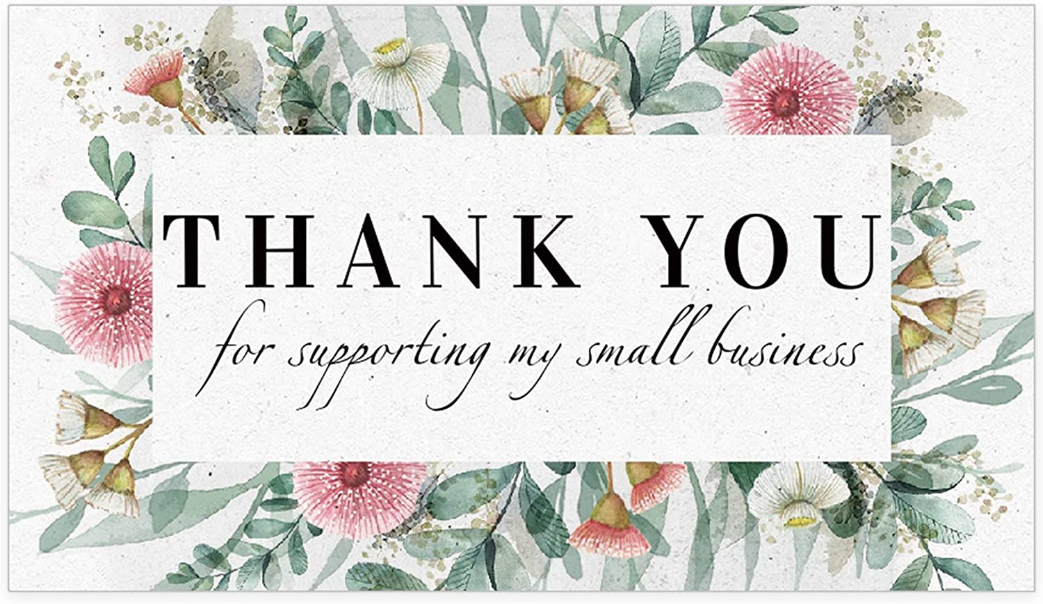 Thank You For Your Purchase  50 Cards Personalise Printed
