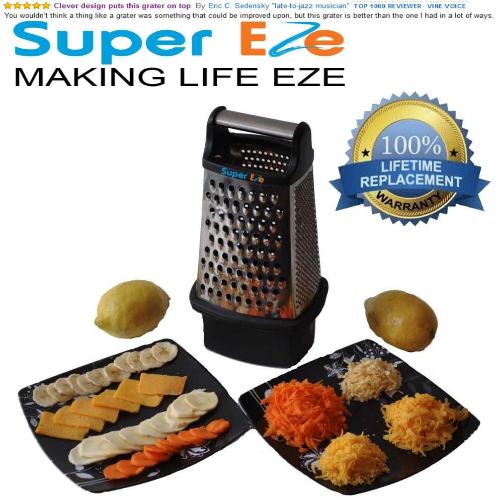 SuperEze Cheese Grater Shredde...