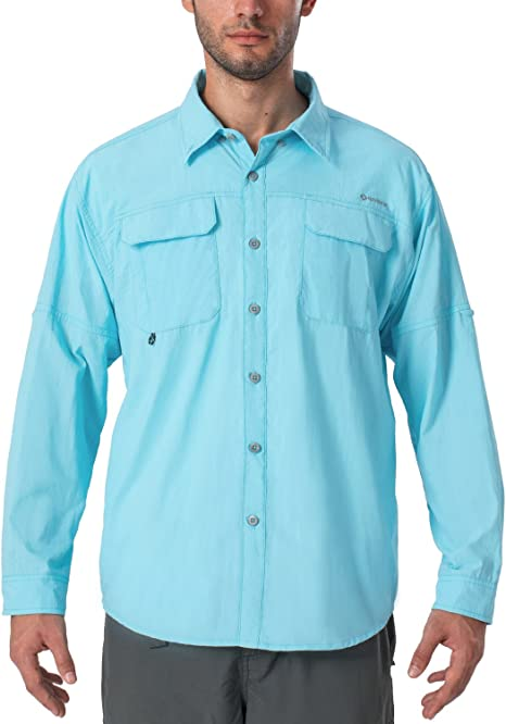 Columbia Triple Canyon Chemise Homme Super Blue//Car Taille Fabricant : M FR : M
