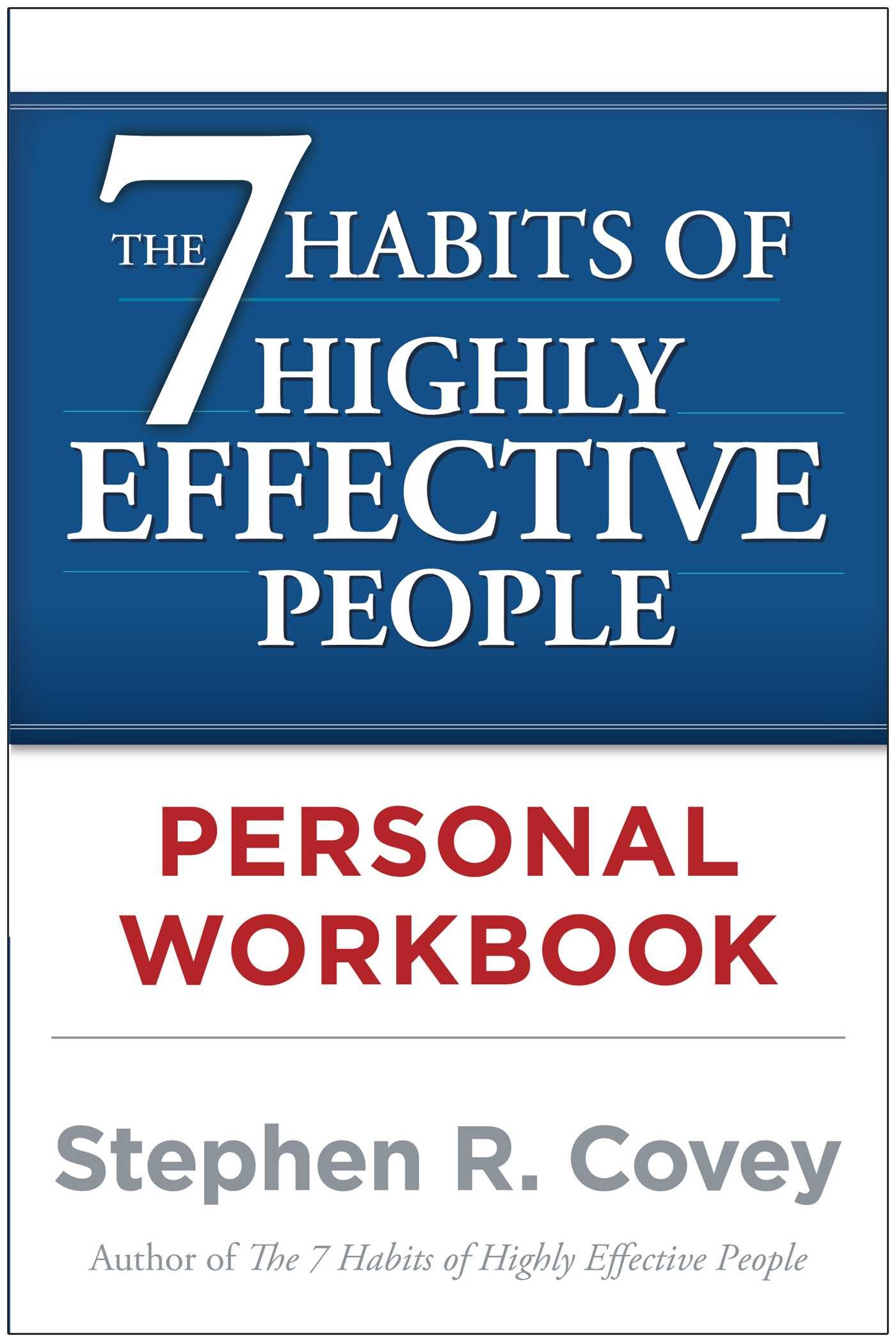 Image for The 7 Habits of Highly Effective People Personal Workbook