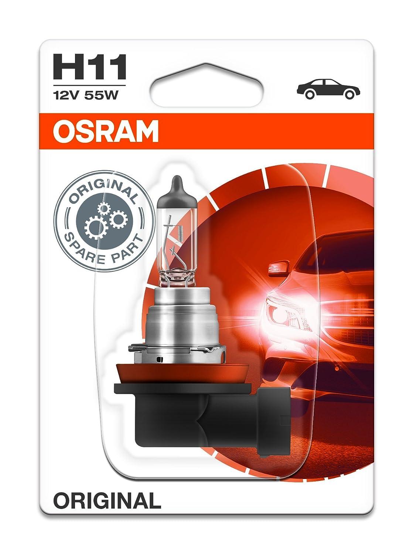 Osram 64211NBU Night Breaker Unlimited Ampoule Halog/ène-H11-12V//55W-la pi/èce Bo/îte pliante Bleu
