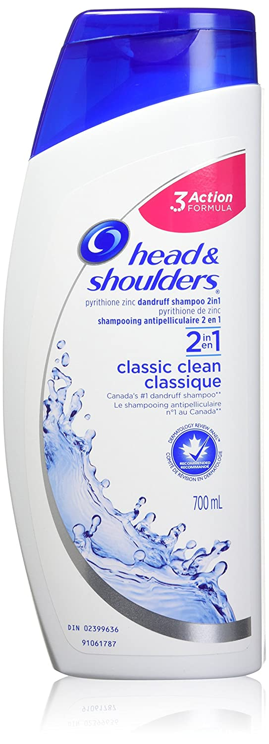 Head and Shoulders Classic Clean 2-in-1 Anti-Dandruff Shampoo + Conditioner 700mL Head & Shoulders