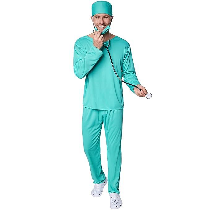 TecTake dressforfun Disfraz para Hombre de Cirujano | Parte ...