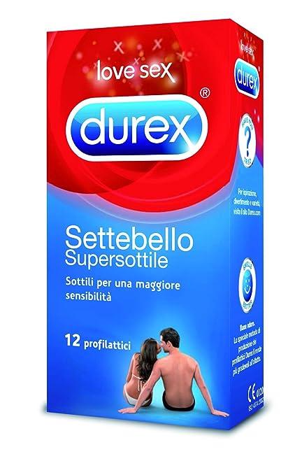 51 opinioni per Durex Settebello Super Sottile Preservativi, 12 Pezzi