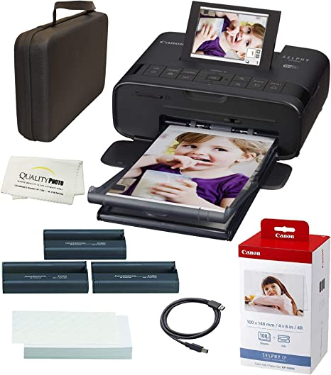 Amazon.com: Canon SELPHY CP1300 Impresora fotográfica ...