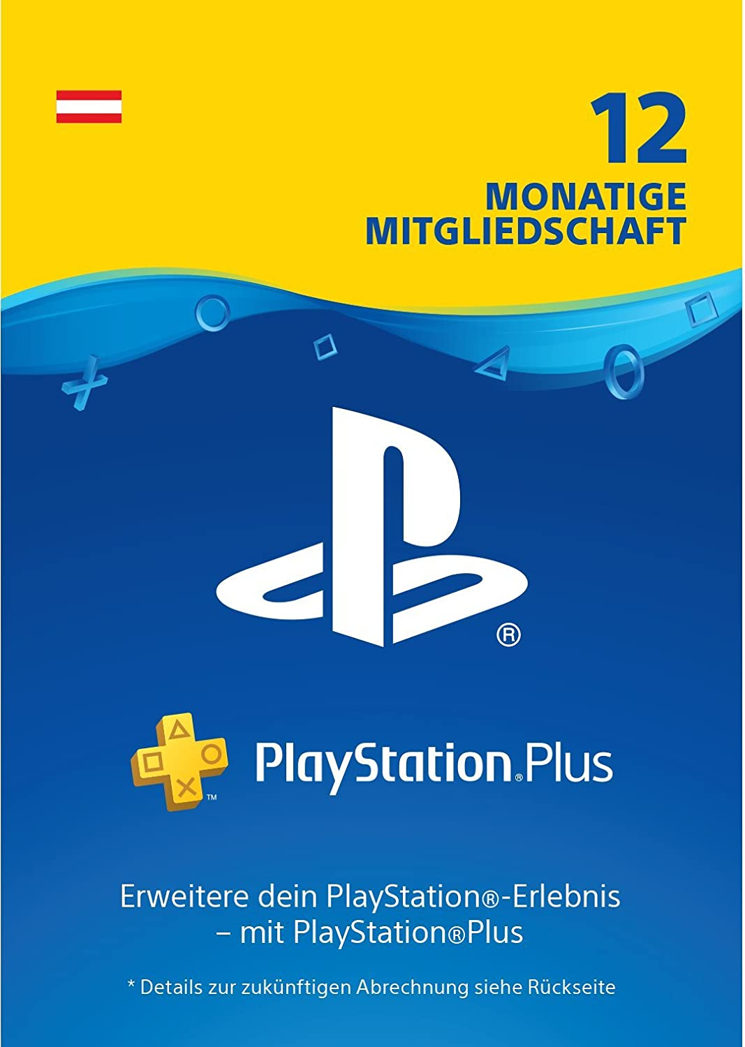 [amazon.de] Playstation Plus 12 Monate um 44,99€