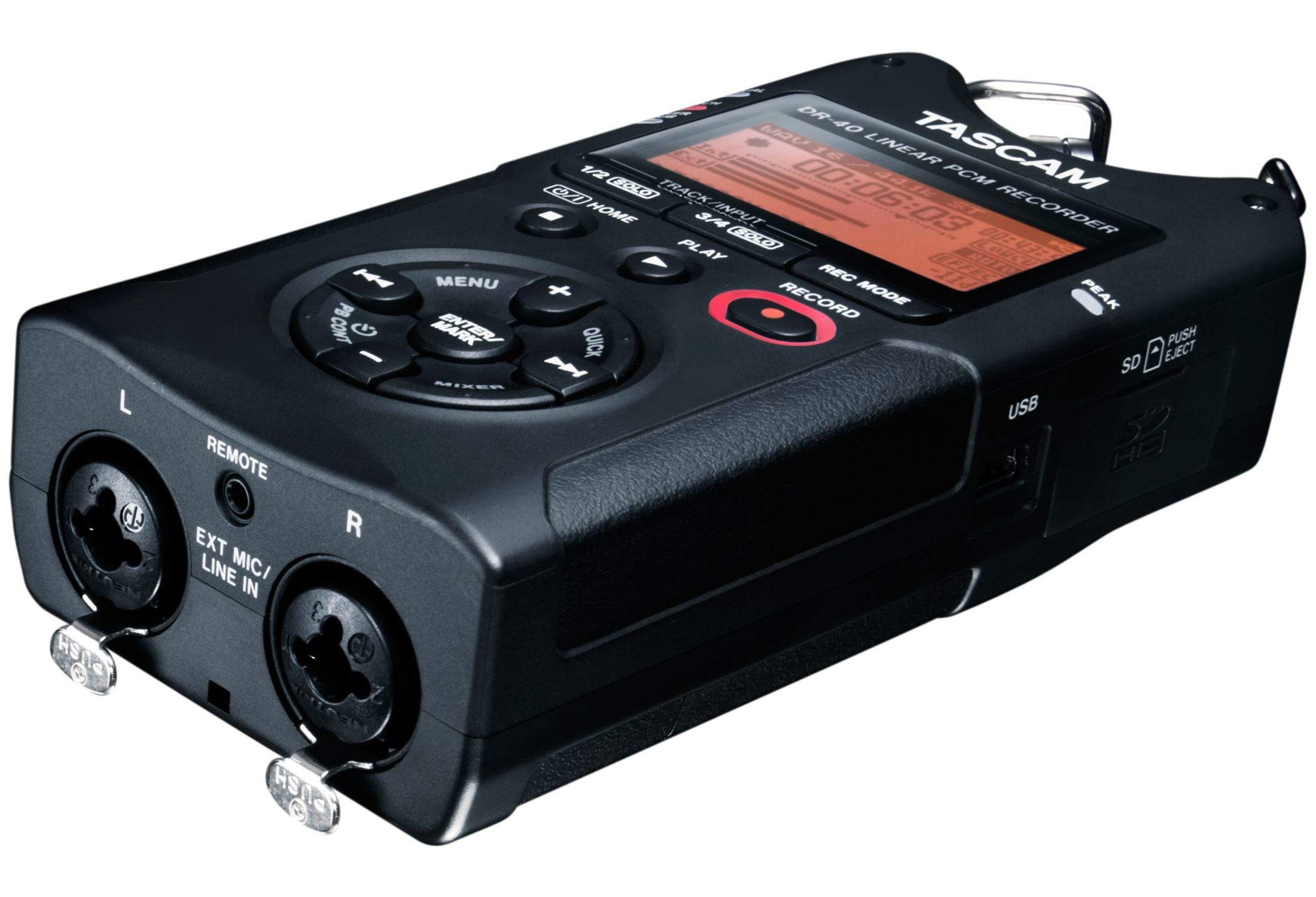 Tascam DR-40 4-Track Portable Digital Audio Recorder by Tascam (Image #14)