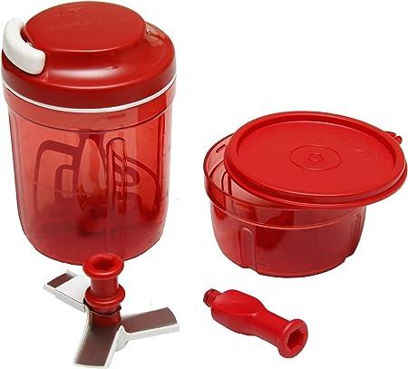 Tupperware Turbo Chef Chopper Red Amazon Co Uk Kitchen Home