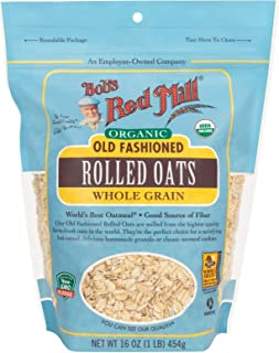 product image for Bob's Red Mill Organic Oats Rolled Regular, 16 Ounce
