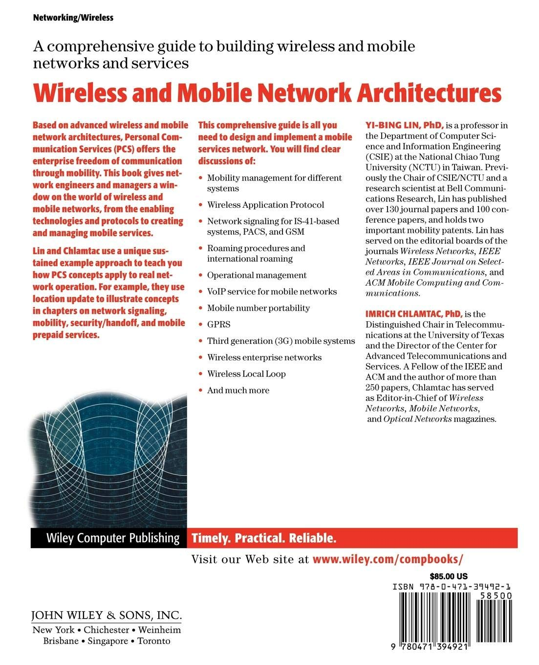 Buy Wireless and Mobile Network Architectures Book Online at Low