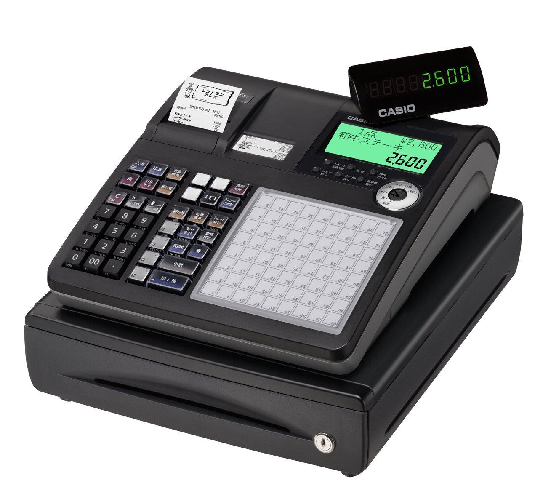 カシオ計算機 電子レジスター(ネットレジ) 4部門 (ブラック) TK-2600-4SBK   B00EFJIUOA
