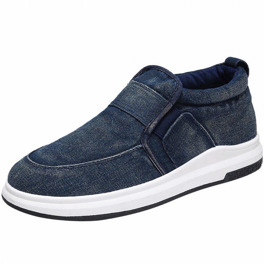 YTTY Art und Weise Segeltuchschuhe Bequeme Breathable Beiläufige Schuhe Belegabnutzungs-Männer Beschuht Allgleiches Flutschuhe