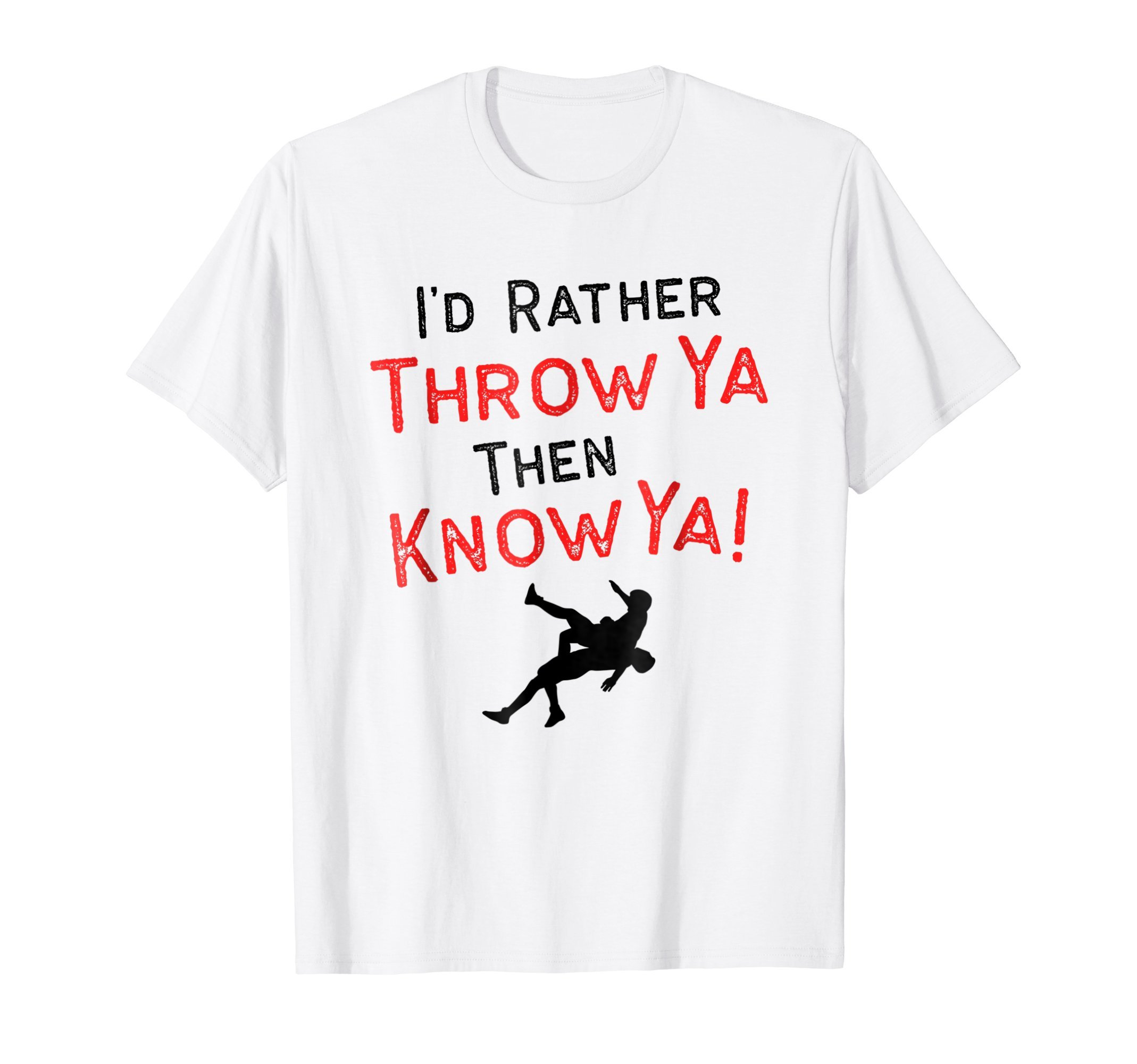 Throw You Wrestling Shirt for Wrestlers, Gift, Funny by Wrestling Shirts and Wrestling Shoes