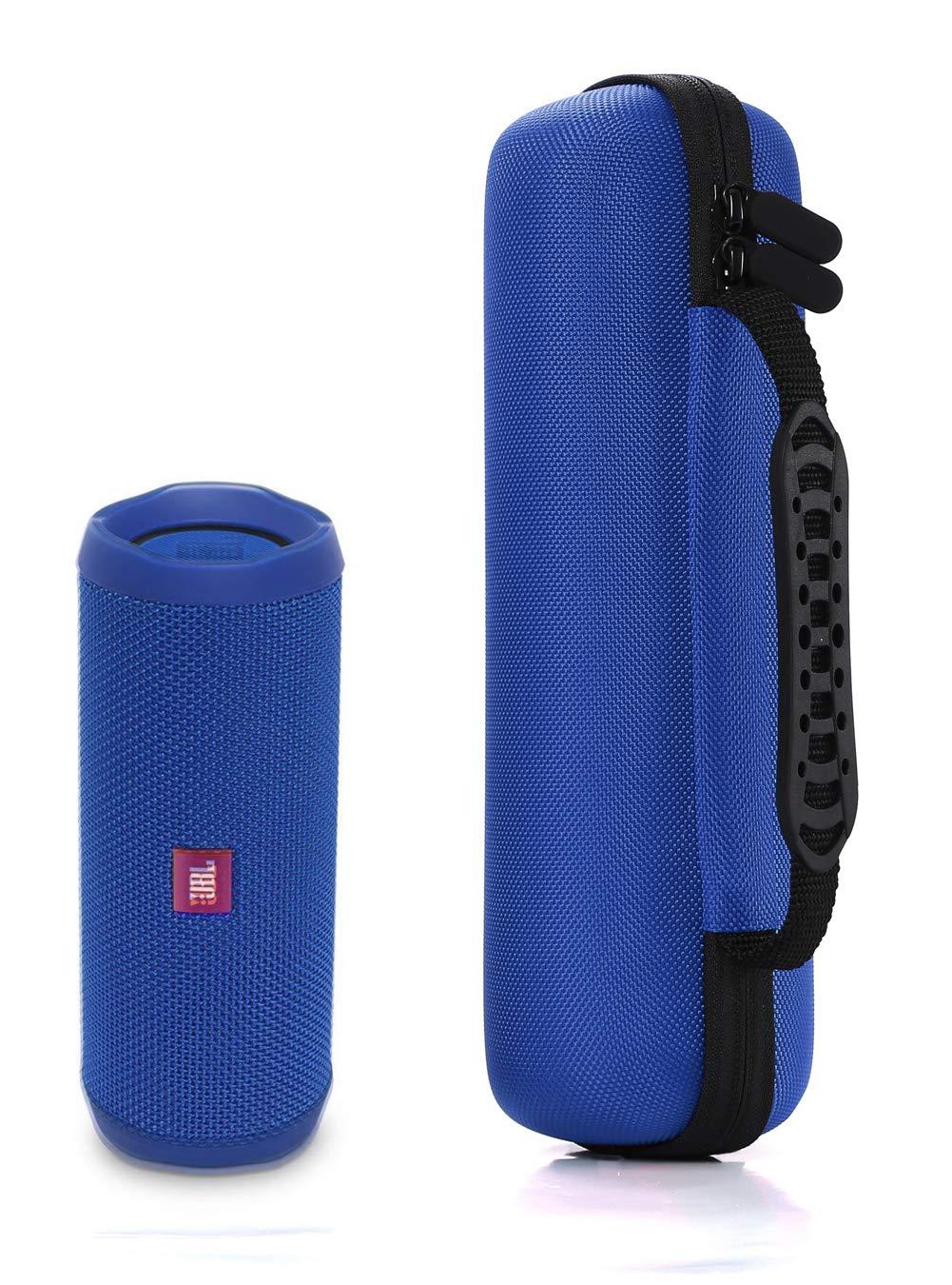 JBL Flip 3 Altavoz Bluetooth port/átil Funda de Transporte R/ígido para JBL Flip 4 Compatible con Cable USB y Cargador de pared-Negro