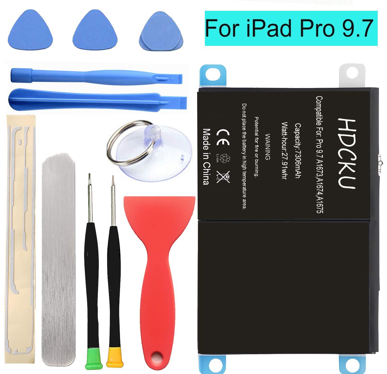 Bateria Tablet A1664 Kit para Apple iPad Pro 9.7 inch 7306mA
