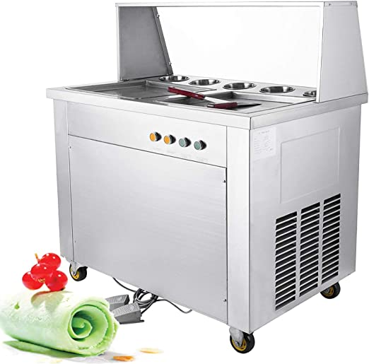 starter Fried Yogurt Machine ,Household Small Ice Maker Children fried ice cream roll machine yogurt maker