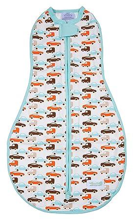 Woombie Original Preemie - Saco para bebé Cocoon swaddle-newborn 0 - 3 months-cars/camiones: Amazon.es: Bebé