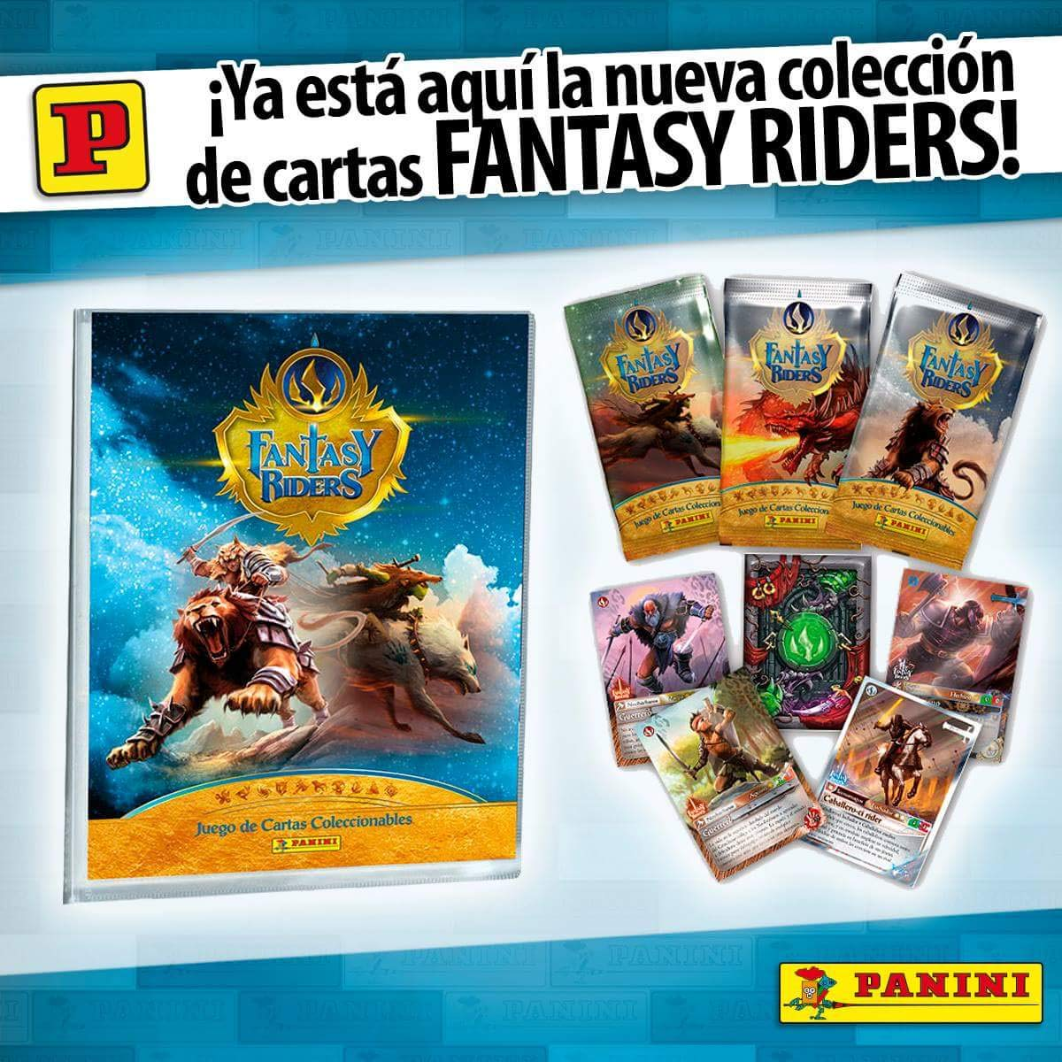 Panini megapack Lanzamiento Fantasy Riders product image