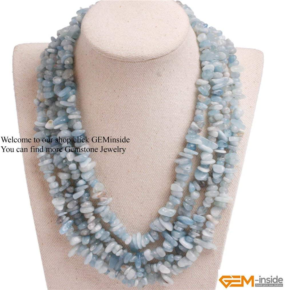 Jewelry Healing Natural Semi-Precious Gemstone Dyed Chalcedony Quality Gift For Her Relaxing