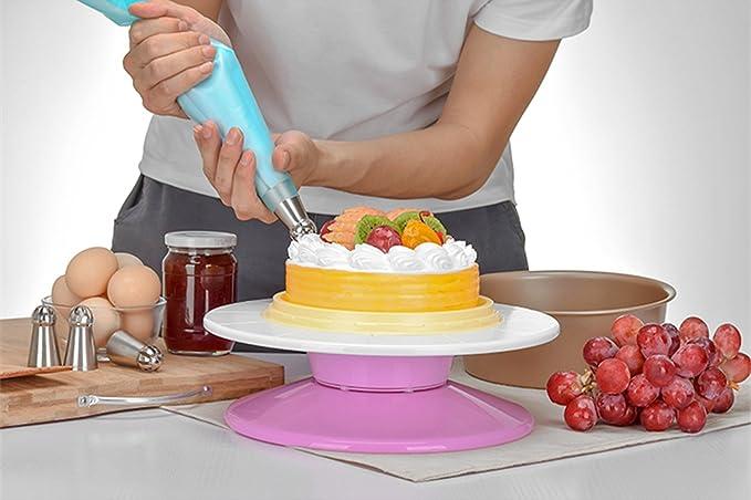 Para tartas Tocadiscos roating soporte para tartas desmontable ...