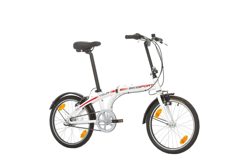 Bikesport TOUR Bicicleta plegable ruedas de 20