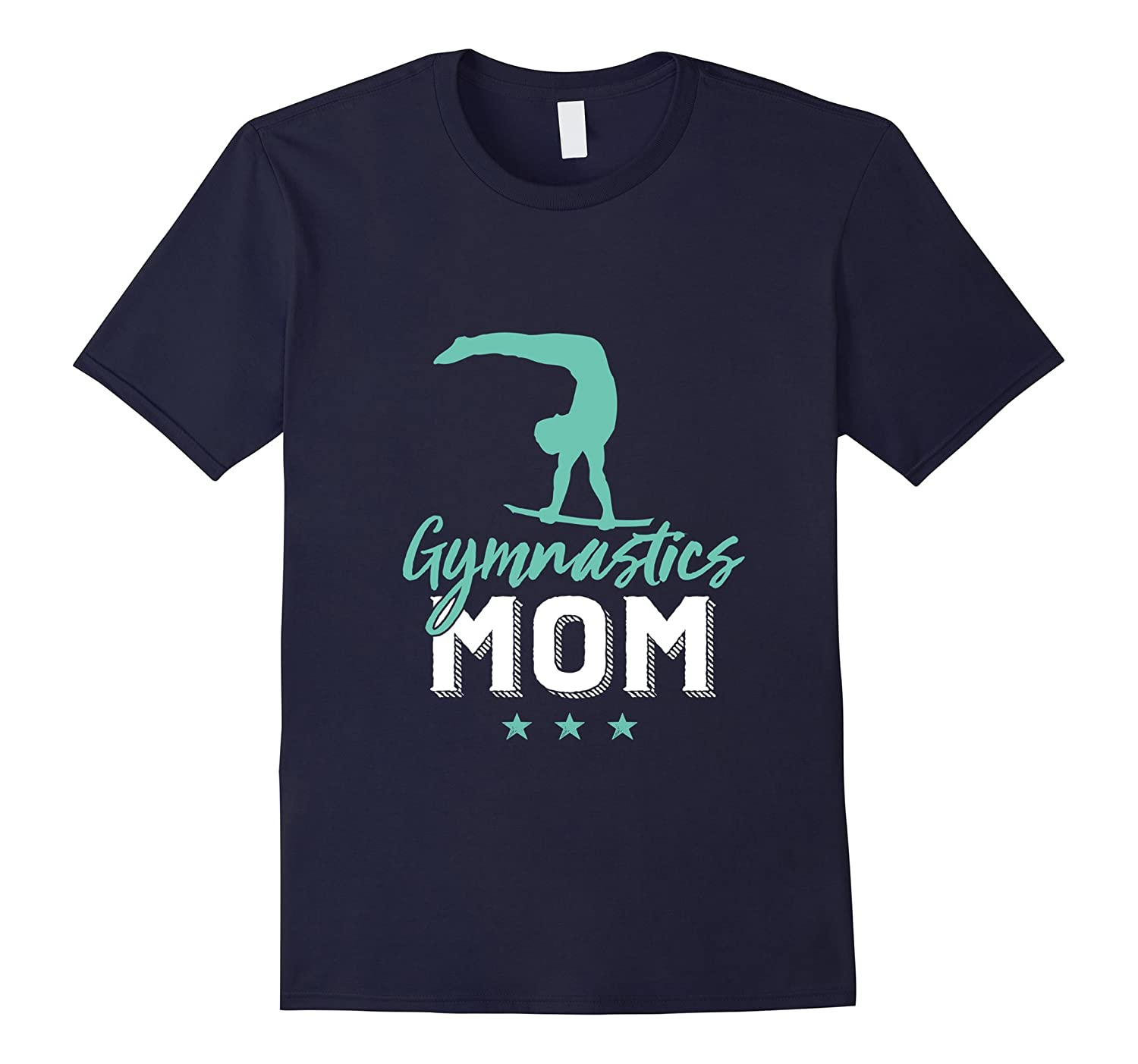 Gymnastics Mom T-shirt for Proud Mothers of Gymnast Kid-TD