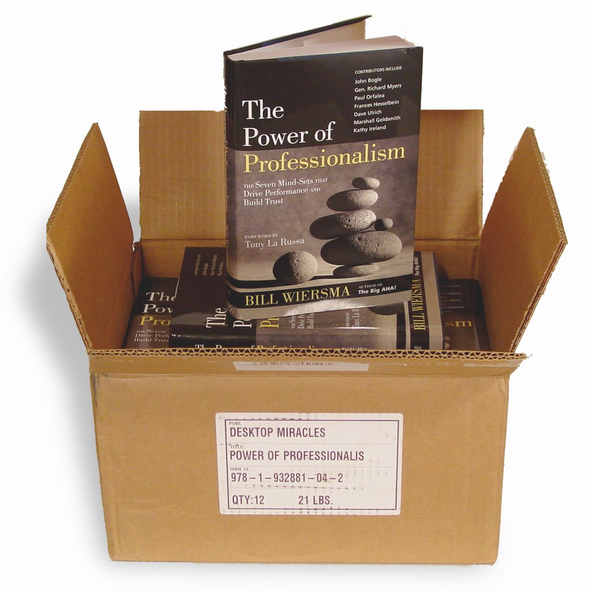 Read Online The Power of Professionalism: The Seven Mind-Sets that Drive Performance and Build Trust--12 PACK OFFER PDF