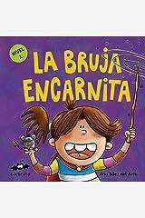 LA BRUJA ENCARNITA (NIVEL 1): Texto a partir de 3 años / Ilustraciones: Colorear dibujos sencillos con líneas gruesas. A partir de 3 años / adultos para ... ILÚSTRALO TÚ MISMO nº 7) (Spanish Edition) Kindle Edition