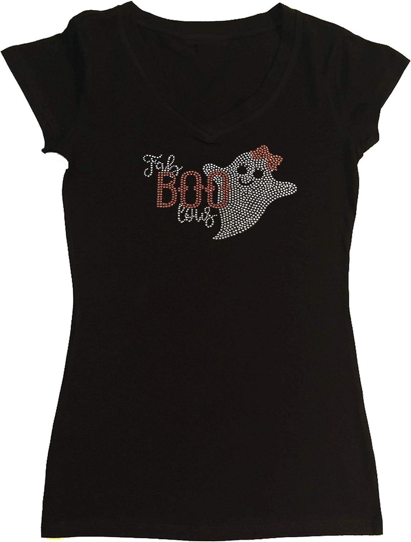 Womens Halloween Long Sleeve Gray Shirt Fab Boo Lous XL Or 3X