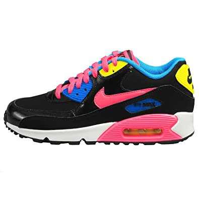 NIKE Kids Air Max 90 LTR Running Shoes-Multi-Color-4.5