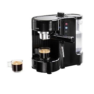 Cafetera Maquina de Cafe Expresso Capuccino Vapor Ajustable Expreso Express y compatible capsulas 6050: Amazon.es: Hogar