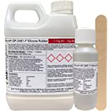 Polycraft GP-3481F RTV Silicone Mould Making Rubber 1.1kg Kit (Clear Catalyst)