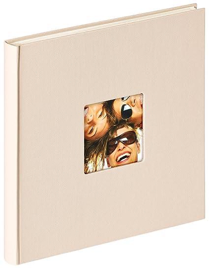 Walther Design Album Foto Da Incollare Fun Beige Sabbia 26 X 25