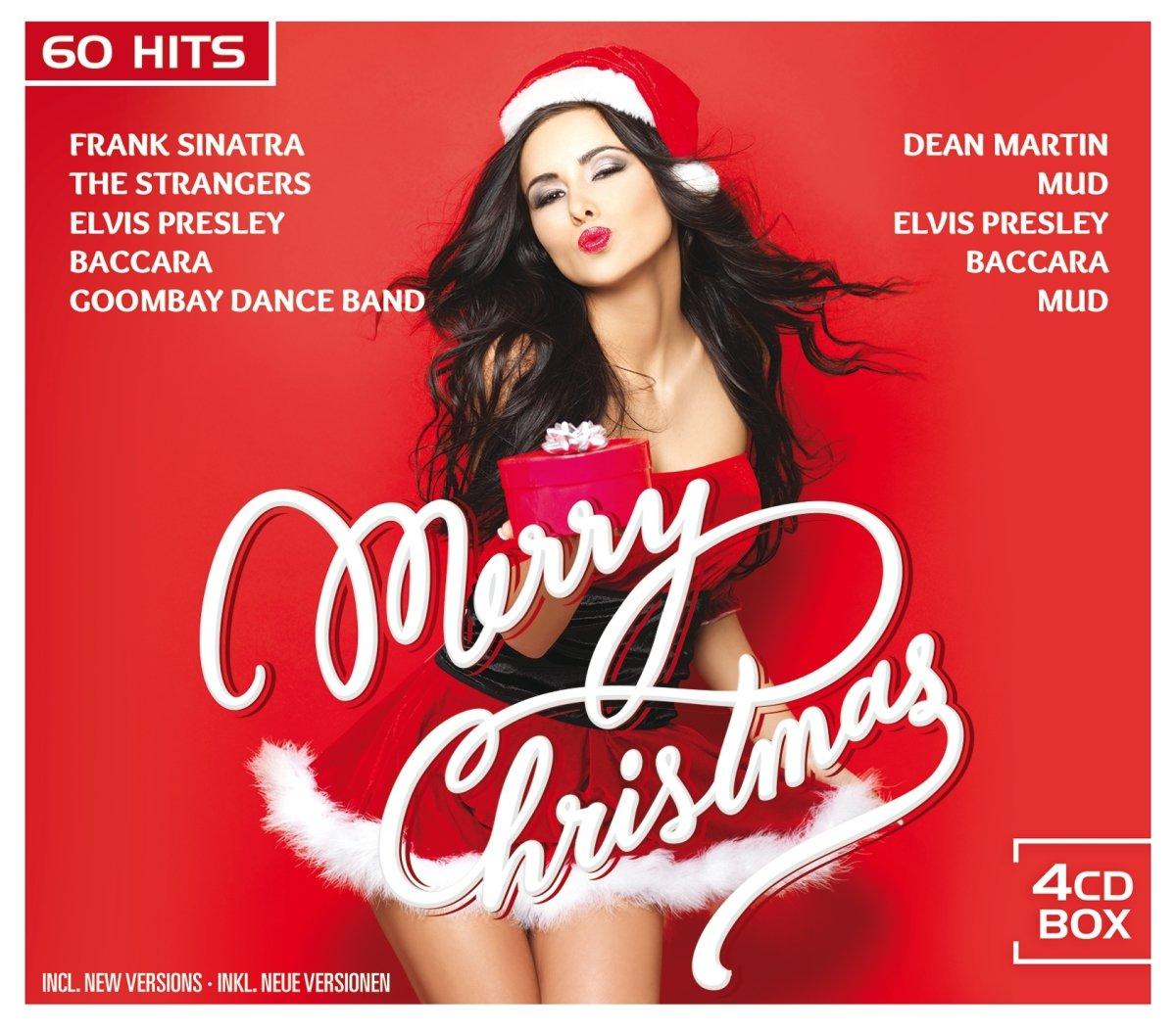 Frank Sinatra Weihnachtslieder.Merry Christmas 60 Weihnachtslieder Auf 4 Cds Frank